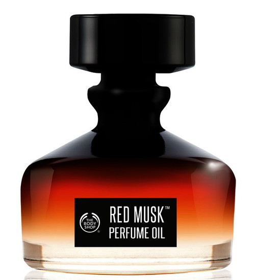 Red Musk Perfume Oil The Body Shop 0.6oz