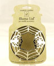 Silver Spider Chrome Illuma Lid Jar Topper Yankee Candle