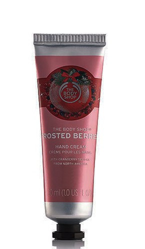 Frosted Berries Hand Cream Travel Mini The Body Shop 1oz