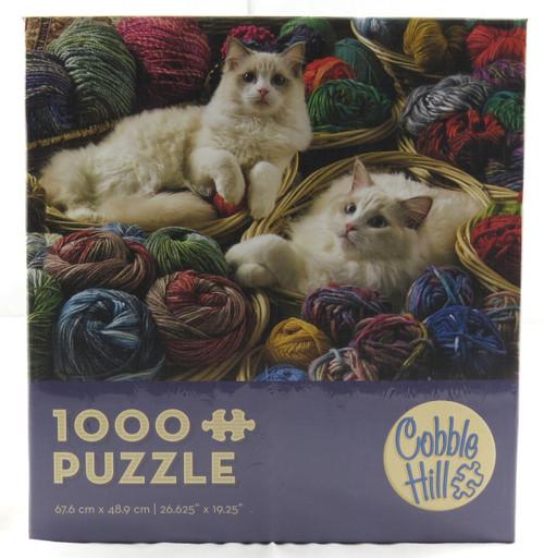 Ragdolls 1000 Piece Jigsaw Puzzle Cobble Hill