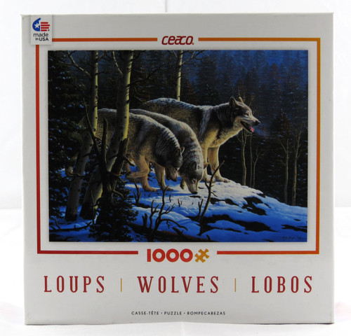 Wolves 1000 Piece Jigsaw Puzzle R.W. Hedge Ceaco