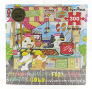 Street Food 300 Large Piece Jigsaw Puzzle Shanghee Shin Re-Marks