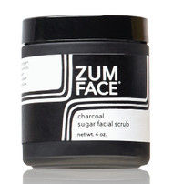 Charcoal Zum Face Sugar Facial Scrub Indigo Wild 4oz