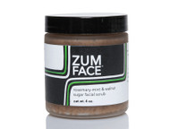 Rosemary Mint Walnut Zum Face Sugar Facial Scrub Indigo Wild 4oz