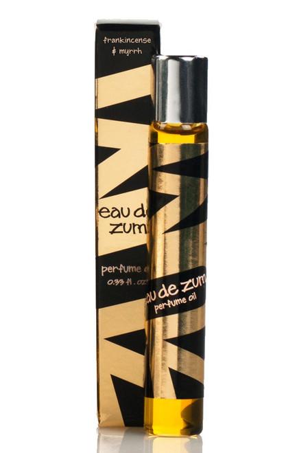 Frankincense Myrrh Eau de Zum Roll On Perfume Oil Indigo Wild 0.33oz