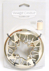 Penguins Chrome Illuma Lid Jar Candle Topper Yankee Candle