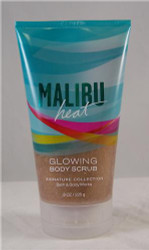 Malibu Heat Glowing Body Scrub Bath and Body Works 8 fl oz