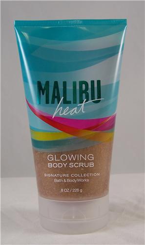 Malibu Heat Glowing Body Scrub Bath and Body Works 8 fl oz