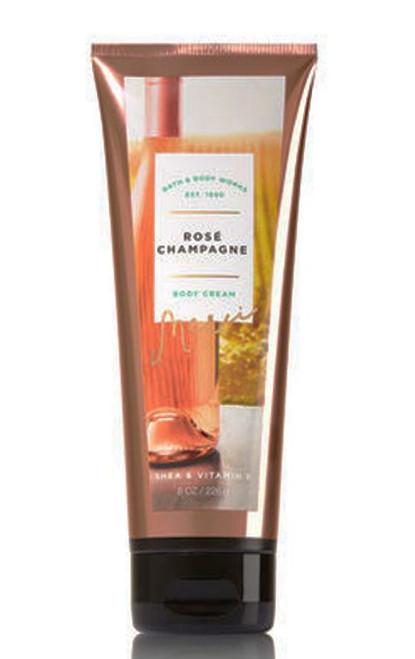 Rose Champagne Body Cream Bath and Body Works 8oz