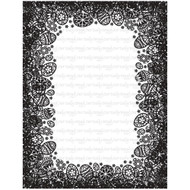 Easter Egg Background Frame Cling Rubber Stamp Our Daily Bread