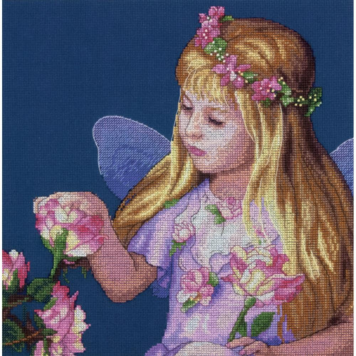 Rose Fairy Counted Cross Stitch Kit Dimensions