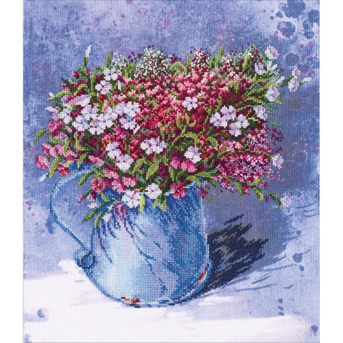 Delicate Bouquet Counted Cross Stitch Kit RTO