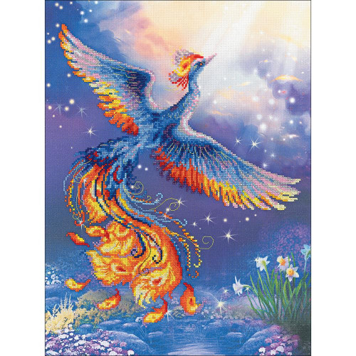 Bird of Happiness Counted Cross Stitch Kit Riolis