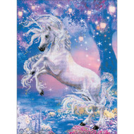 Unicorn Counted Cross Stitch Kit Riolis