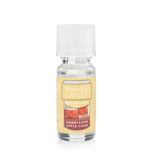 Honeycrisp Apple Cider Home Fragrance Oil Yankee Candle 0.3oz