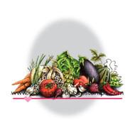Harvest Delight Rubber Cling Stamp C.C. Designs