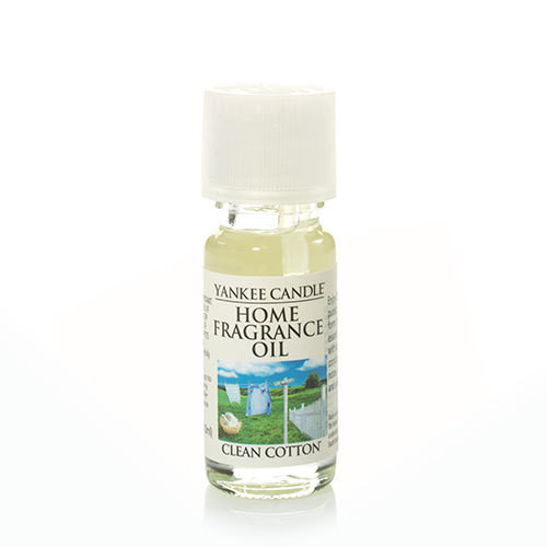 Clean Cotton Home Fragrance Oil Yankee Candle 0.3oz