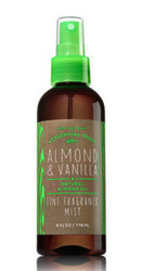 Almond Vanilla Fine Fragrance Mist Bath and Body Works 6oz