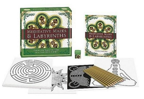 Meditative Mazes and Labyrinths Color and Trace the Paths to a Calm Mind and Spirit