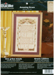Buy Amazing Grace Counted Cross Stitch Kit Bucilla NEW