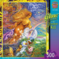 Wind of Change 500 piece Jigsaw Puzzle Josephine Wall Glow in the Dark