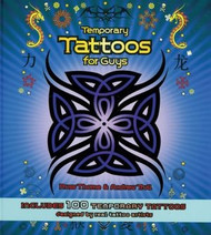 Temporary Tattoos for Guys Hardcover Book