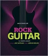 Masters of Rock Guitar Hardcover Book