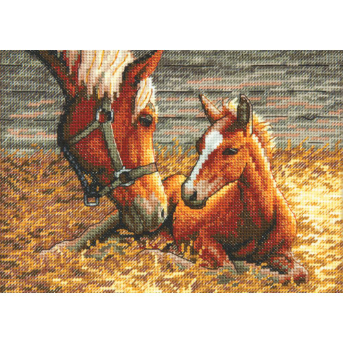Good Mornings Gold Collection Cross Stitch Kit-Click here to buy this and more!