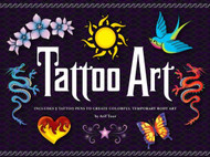Tattoo Art Activity Craft Kit-Click here to buy now!