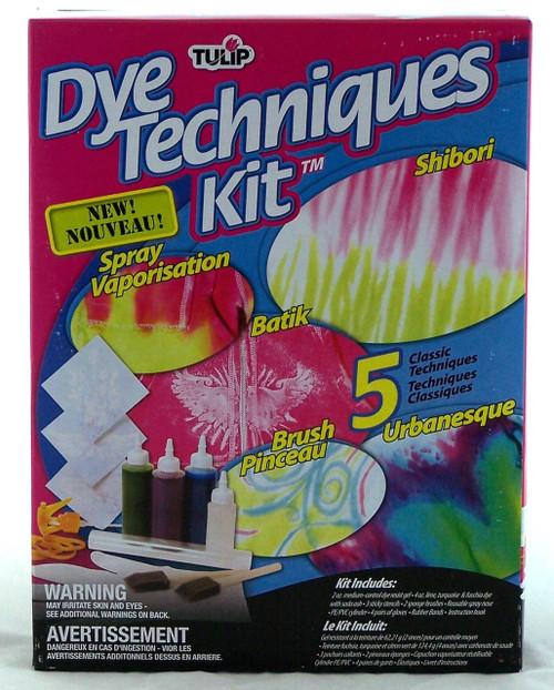 Shop here for Tulip Tie Dye Techniques Kit- Shibori, Batik, Urbanesque, Brush Pinceau, Spray Vaporization