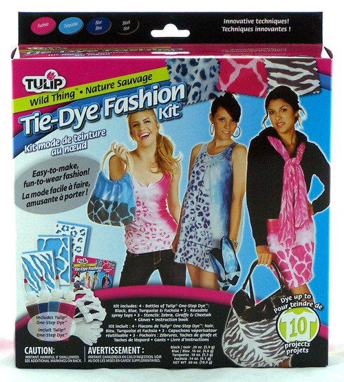 Wild Thing Fashion Tie Dye Kit Tulip- Click here to buy now at Archway Variety
