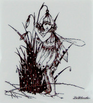 Snow Drop Fairy LaBlanche Stamp-Shop here for art and craft supplies!