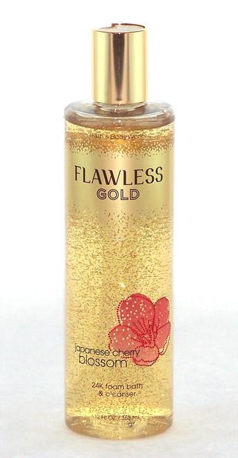 Japanese Cherry Blossom 24K Flawless Gold Foam Bath-Buy here now!