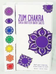 Buy Chakra Zum Bath Salts Collection Indigo Wild