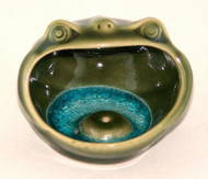 Ceramic Green Glazed Frog Incense Burner-Buy Here!