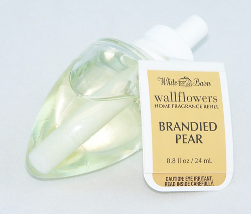 Buy this classic Brandied Pear Wallflower Fragrance Bulb Refill!