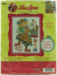 Queen Bee Counted Cross Stitch Kit Alma Lynne Bucilla