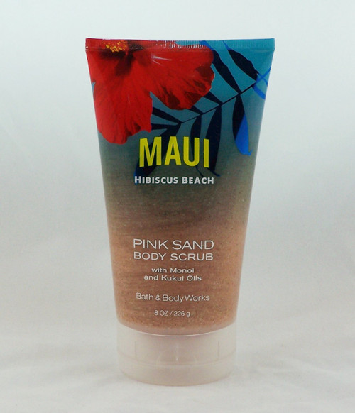 Click here to buy now! Maui Hibiscus Beach Pink Sand Body Scrub