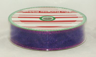 Shop for Purple Sparkled Wired Craft Ribbon now