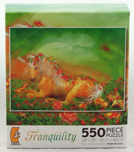 Click here to buy Unicorn of the Roses 550 piece Jigsaw Puzzle