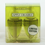 Click now to buy Apple Crumble Wallflower Refill Double Pack! Limited Edition Bath and Body Works