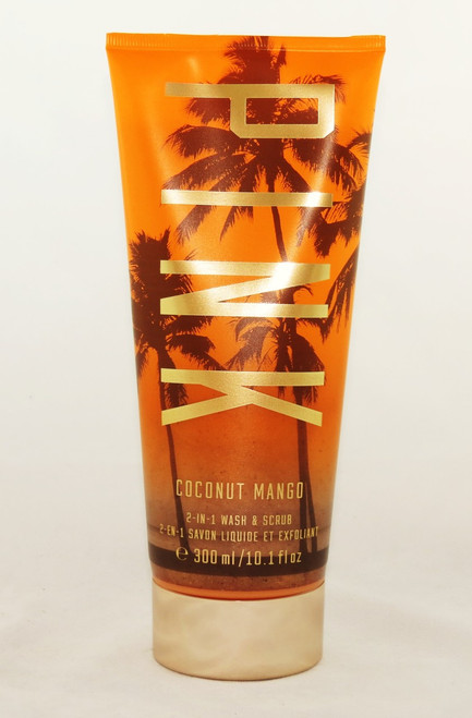 Shop now for Coconut Mango 2-in-1 PINK Body Wash Scrub Victoria's Secret