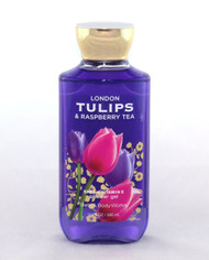 SHop now for London Tulips Raspberry Tea Shower Gel Body Wash Bath and Body Works