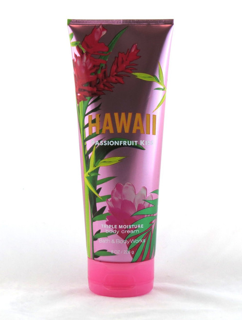 Buy this Hawaii Passion Fruit Kiss Body Cream Bath and Body Works now!