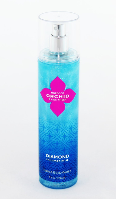 Limited Supply! Shop now for Morocco Orchid Pink Amber Diamond Shimmer Mist Bath and Body Works