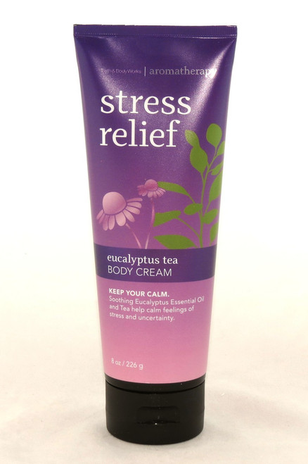 Buy Calming Stress Relief Eucalyptus Tea Body Cream Bath and Body Works here now!