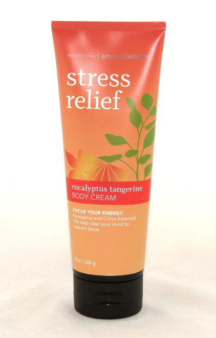 Shop now for Eucalyptus Tangerine Stress Relief Body Cream Bath and Body Works