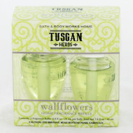 Shop now for Tuscan Herbs Wallflower Refill 2-pack Bath and Body Works