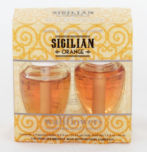 SHop here now for Sicilian Orange Wallflower Refill 2-pack Bath and Body Works