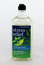 Click here to buy Eucalyptus Basil Stress Relief Foam Bath Body Wash Aromatherapy
